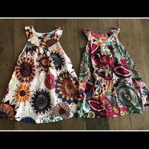 Other - Paisley Colorful Floral Summer Dresses
